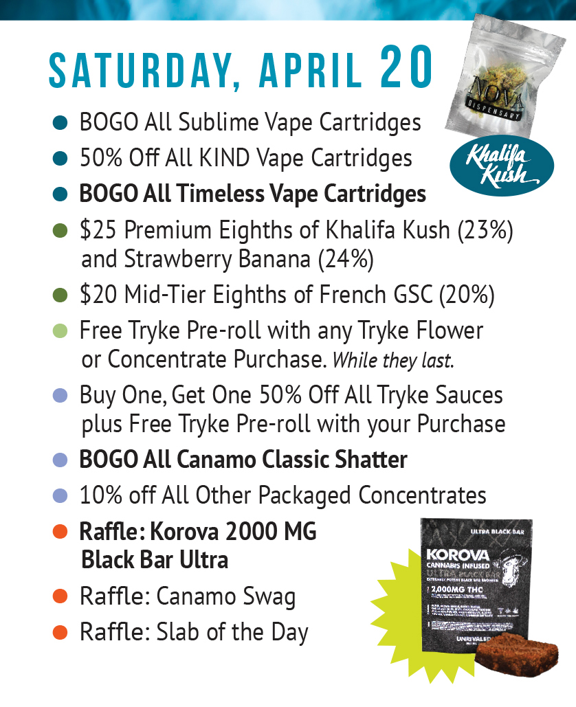 Saturday Apr 20