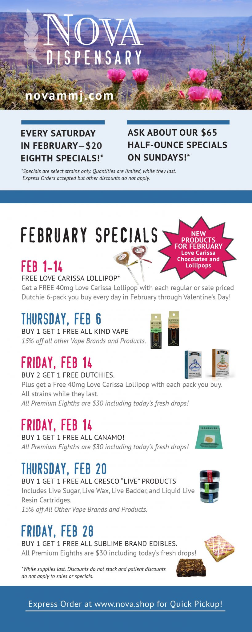 February Sales Flyer